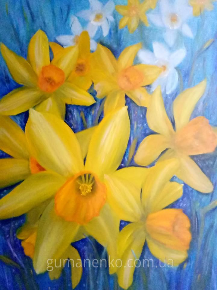 """Картина """"Весна"""", холст 50х70 см., масло."""